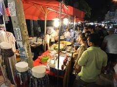 Sunday market (kawabek) Tags: thailand market stall chiangmai          parsol