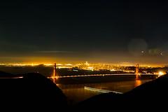 Golden Gate Bridge (Dennis Goedegebuure) Tags: goldengatebridge sanfrancisco marinheadlands fullmoon