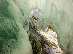 Foam Cave (edwinemmerick) Tags: shorebreak wave nature ocean sea seascape beach water australia gopro