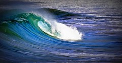DSC_0687 Blue ocean, green wave (Rodolfo Frino) Tags: ocean sea seawave seascape oceanscape australia sydney downunder greenwave blueocean bluesea wind droplet drop nature deepbluesea pacificocean aussie beach bythebeach breakingwave energy strong power powerful powerfulwave beautifulwave