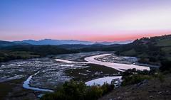 Ra en San Vicente de la Barquera (jopas2800) Tags: sunset river ria cantabrico mar clouds montain nikon d610 tokina