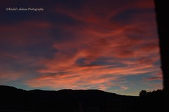 Crpuscule Rose (khalid.lebdioui) Tags: sunset pink crepuscule dusk sky mountain clouds