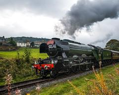FLYING SCOTSMAN (Stefan Pankow) Tags: scotsman east lancs rawtenstall train smoke rossendale