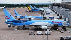 Thomson Airways Boeing 767-304ER G-OBYE (StephenG88) Tags: manchesterairport man egcc 23l 23r boeing airbus 12thseptember2016 12916 91216 thomsonairways tom by thomson tui 767 763 767300er gobye 737 738 737800