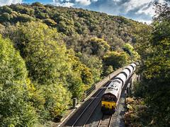 RJW_2016_10_20 _9494 (Rails West) Tags: 6c53 chinaclay class66 cornwall ews66 locations milltown milltownviaduct 66168