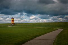 Pilsumer Leuchtturm (Sascha Gebhardt Photography) Tags: nikon nikkor d800 2470mm lightroom landscape landschaft leuchtturm lighthouse photoshop fototour fx nordsee otto sky ozean ocean
