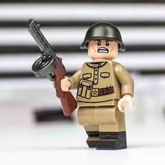 Red October! (MRU!) Tags: brickarms lego russian ww2 ppsh41