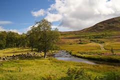River North Esk. (Keith (foggybummer)) Tags: cairngormnationalpark glenesk hills lochlee rivernorthesk landscape river source