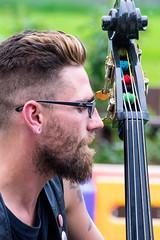 Man Bass (djking) Tags: alberta cfsk calgary campfireshitkickers canada backyard band bluehair duo glasses party punk