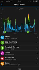 Garmin Connect Mobile (UX Examples (Mobile Games)) Tags: 2016 app garminconnectmobile garmin infograph visualization personalization