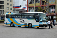 JR Bus 644-7953 (Howard_Pulling) Tags: matsuyama japan april 2014 japanese howardpulling