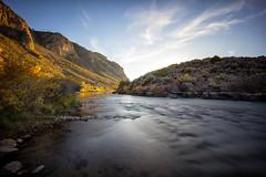 The Rio Grande (Muzzlehatch) Tags: rio grand river new mexico landsape long exposure