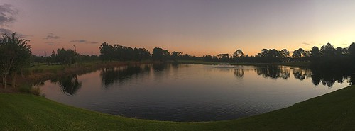 Early morning at the Golf Course