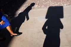 la tte au carr (yaya13baut) Tags: tomar portugal street streettogs streetphotographers streetphotography streetphoto autoportrait selfportrait shadow shadows streetshadows leg legs woman hand hands head fun myself fuji fujifilm x100s