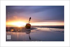 last call lighting (Emmanuel DEPARIS) Tags: emmanuel deparis baie de canches le touquet cote dopale nikon d810 mer beach sand sable bouée chenal fleuve