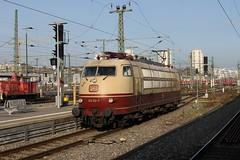 103 113-7 Stuttgart Hbf 28.11.2014 (Gäubahner) Tags: stuttgart baureihe 103 hbf db hauptbahnhof