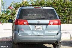 Toyota Sienna Tunisia 2016 (seifracing) Tags: toyota sienna tunisia 2016 libyan number plate seifracing spotting services security cars car brigade vehicles voiture