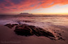 Another Table Mountain Sunset (Panorama Paul) Tags: paulbruinsphotography wwwpaulbruinscoza southafrica westerncape capetown tablemountain blaauwbergbeach clouds rocks waves beach sunset nikond800 nikkorlenses nikfilters