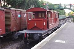 IMGP5792 (Steve Guess) Tags: alton alresford ropley hants hampshire england gb uk train railway engine loco locomotive heritage preserved queen mary sr brake van guards