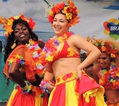 Brazil day dancers (bokage) Tags: brazil sweden stockholm bokage dance dancer kungstrdgrden brazilday performer entertainer