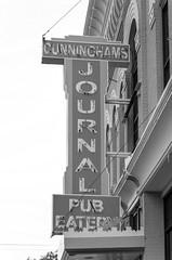 Cunningham's Journal (Eridony) Tags: kearney buffalocounty nebraska downtown sign
