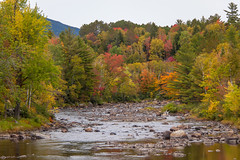 Stark NH (blackseal35) Tags: 2016 24105l canon canonti1 cooscounty errol fall nh newhampshire northwoods stark whitemountains c color colorful colors coveredbridge leafpeeping leaves mountains river roadtrip stream view water woods