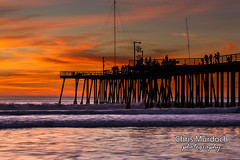 Silhouettes at Sunset (Chris Murdoch Photography) Tags: beaches california californiacoast californialandscapephotography chrismurdoch chrismurdochlandscapephotography chrismurdochphotography copyrightchrismurdoch fineart fineartphotography highway1 landscapephotography landscapes orange pierthings pismobeach sea seascapes silhouettesatsunset sunset sunsets usa water waves white