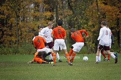 IMG_3805eFB (Kiwibrit - *Michelle*) Tags: soccer varsity boys high school game team monmouth mustangs nya north yarmouth academy maine 102916