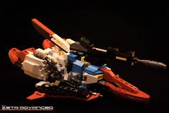 Z WR Right (Sam.C (S2 Toys Studios)) Tags: zetagundam gundam mobilesuit lego moc s2 80s scifi mecha anime japan spacecraft