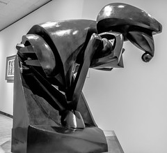 Le Grand Cheval, B&W (celdredg) Tags: munsonwilliamsproctor museum