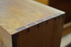 Dovetail joints (radargeek) Tags: crafting homesteadheritage waco tx texas dovetailjoint