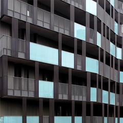 Senza titolo (elen@c) Tags: balcony lines blu elenc milano