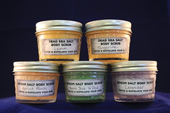 Salt Scrub $3.00 (Clelian Heights) Tags: clelianheights cleliancenter decorativesoaps soaps bodyscrub exfoliating epsomsalt deadseasalt unscented scented