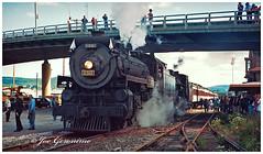 Steamtown (Joe Geronimo) Tags: steamtown canadianpacific canadiannational train railroad binghamton newyork dh conrail erielackawanna lehighvalley norfolksouthern csx nysw fingerlakes kodak kodachrome film camera canon nikon fuji usa