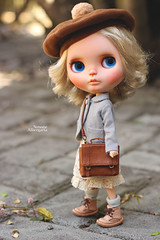 Holly (Passion for Blythe) Tags: hollywood blythe cold cute tiny takara dream