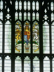 P1390239 Parliament - Heraldic Stainedglass (londonconstant) Tags: londonconstant costilondra london architecture chelsea westminster promenades streetscapes