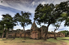 Phanom Rung - Thailand (Silent Eagle  Photography) Tags: sep silent eagle photography silenteaglephotography canon canoneos5dmarkiii thailand phanomrung natural tree plants sky clouds outdoor green rocks silenteagle09