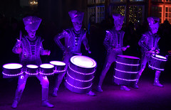 Spark Drummers at Astley Hall - 31 (Tony Worrall) Tags: outside cold annual new north northwest lancs lancashire england northern uk update place location visit area county attraction open stream tour country welovethenorth unitedkingdom lit light music musical led drummers sparkdrummers worldbeatersmusic drum thumb movement dance sounds chorley night evening dark astleyhall brilliant shine spark