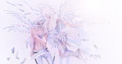 Sound of an angel ( .  (Im Japanese)) Tags: secondlife sl snapshot ss secondlifefashion secondlifeblog blog blogger fashion event events fashionblog ccb creatorscollectionbox wing air blueberry gacha truthhair          japan