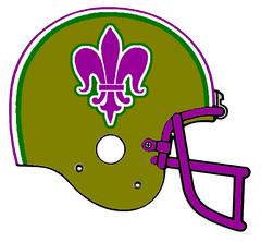 New Orleans Saints (Flagman00) Tags: nfl redesigned football helmets washinton redskins alternate native design neworleanssaints fleurdelis