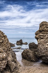 Through the reefs (Mario Ottaviani Photography) Tags: sony sonyalpha italy italia paesaggio landscape travel adventure nature scenic exploration view vista breathtaking tranquil tranquility serene serenity calm roccia scoglio scogli reefs reef mare sea seascape acqua bagnasciuga costa abruzzo puntapenna vasto