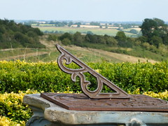 Sundial and View (John of Witney) Tags: countryside view sundial warwickshire nationalherbcentre