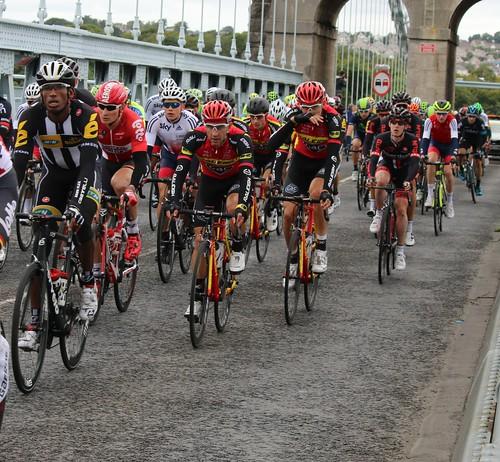 Tour of Britain 2015 - Teklehaimanot, Greipel