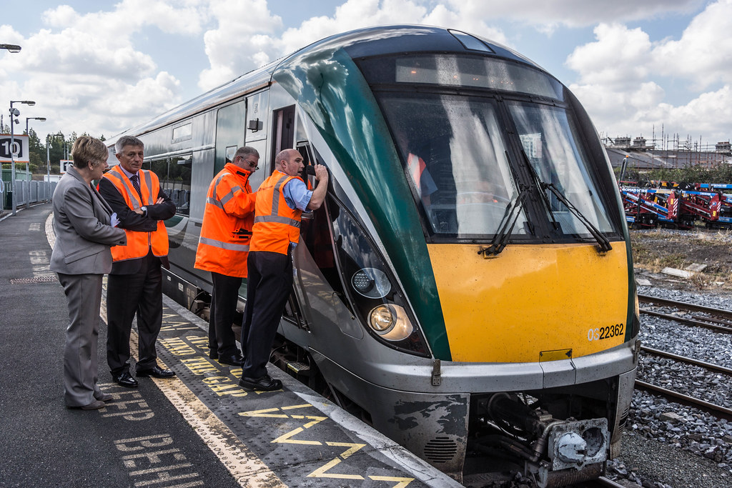 THE MINISTER PLUS PLATFORM 10 AND THE PHOENIX PARK RAILWAY TUNNEL [NOT FORGETTING IRISH RAIL STAFF] REF-107119