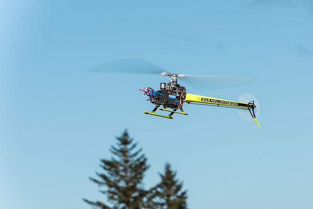 SAB Goblin 700 Test Flight by Dave