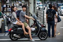 (seua_yai) Tags: street people cute sexy beautiful fashion asian women asia candid go wheels korea motorbike korean seoul motorcycle lovely southkorea asiangirl asianwoman koreangirl koreanwoman asianlady sexyasian urbanmobility koreanpeople koreanwomen koreanlady koreanstreetfashion seoulgirl korea2015 koreaseoul2015