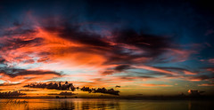 Colorful Morning (Tedj1939) Tags: morning sky sun nature clouds sunrise river dawn seascapes predawn indianriver