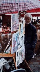 Place du Tertre, Paris. (Michelle van Dijck) Tags: portrait paris france paint artist paintings montmartre painter placedutertre