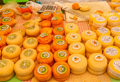 Cheeses (swordscookie) Tags: cheese milk mix market cut board knife goats taste algarve vilamoura quarteira ewes magnficent