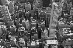 Empire State Building - Sep 2015 (- yt -) Tags: newyorkcity summer usa ny empirestatebuilding fujifilmx100t